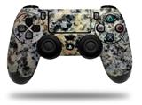 Skin Wrap for Sony PS4 Dualshock Controller Marble Granite 01 Speckled (CONTROLLER NOT INCLUDED)