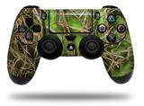WraptorSkinz Skin compatible with Sony PS4 Dualshock Controller PlayStation 4 Original Slim and Pro WraptorCamo Grassy Marsh Camo Neon Green (CONTROLLER NOT INCLUDED)