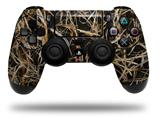 Vinyl Decal Skin Wrap compatible with Sony PlayStation 4 Dualshock Controller WraptorCamo Grassy Marsh Camo Dark Gray (PS4 CONTROLLER NOT INCLUDED)