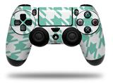 Vinyl Decal Skin Wrap compatible with Sony PlayStation 4 Dualshock Controller Houndstooth Seafoam Green (PS4 CONTROLLER NOT INCLUDED)
