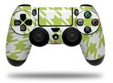Vinyl Decal Skin Wrap compatible with Sony PlayStation 4 Dualshock Controller Houndstooth Sage Green (PS4 CONTROLLER NOT INCLUDED)