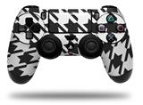 WraptorSkinz Skin compatible with Sony PS4 Dualshock Controller PlayStation 4 Original Slim and Pro Houndstooth Dark Gray (CONTROLLER NOT INCLUDED)
