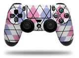 Vinyl Decal Skin Wrap compatible with Sony PlayStation 4 Dualshock Controller Argyle Pink and Blue (PS4 CONTROLLER NOT INCLUDED)