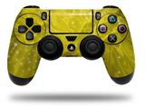 Vinyl Decal Skin Wrap compatible with Sony PlayStation 4 Dualshock Controller Stardust Yellow (PS4 CONTROLLER NOT INCLUDED)