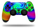 Skin Wrap for Sony PS4 Dualshock Controller Rainbow Swirl (CONTROLLER NOT INCLUDED)