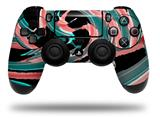 Skin Wrap for Sony PS4 Dualshock Controller Alecias Swirl 02 (CONTROLLER NOT INCLUDED)