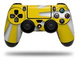 WraptorSkinz Skin compatible with Sony PS4 Dualshock Controller PlayStation 4 Original Slim and Pro Rising Sun Japanese Flag Yellow (CONTROLLER NOT INCLUDED)