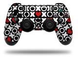 Skin Wrap for Sony PS4 Dualshock Controller XO Hearts (CONTROLLER NOT INCLUDED)
