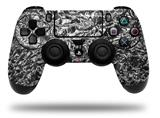 Vinyl Decal Skin Wrap compatible with Sony PlayStation 4 Dualshock Controller Aluminum Foil (PS4 CONTROLLER NOT INCLUDED)