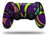 Vinyl Skin Wrap for Sony PS4 Dualshock Controller Crazy Dots 01 (CONTROLLER NOT INCLUDED)