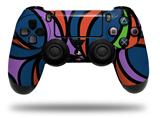 Vinyl Decal Skin Wrap compatible with Sony PlayStation 4 Dualshock Controller Crazy Dots 02 (PS4 CONTROLLER NOT INCLUDED)