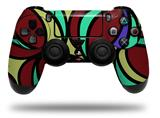 Vinyl Skin Wrap for Sony PS4 Dualshock Controller Crazy Dots 04 (CONTROLLER NOT INCLUDED)