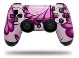 WraptorSkinz Skin compatible with Sony PS4 Dualshock Controller PlayStation 4 Original Slim and Pro Petals Pink (CONTROLLER NOT INCLUDED)