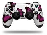 WraptorSkinz Skin compatible with Sony PS4 Dualshock Controller PlayStation 4 Original Slim and Pro Butterflies Purple (CONTROLLER NOT INCLUDED)