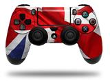 WraptorSkinz Skin compatible with Sony PS4 Dualshock Controller PlayStation 4 Original Slim and Pro Union Jack 01 (CONTROLLER NOT INCLUDED)