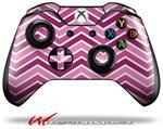 Decal Style Skin for Microsoft XBOX One Wireless Controller Zig Zag Pinks - (CONTROLLER NOT INCLUDED)
