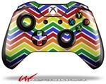 Decal Style Skin for Microsoft XBOX One Wireless Controller Zig Zag Rainbow - (CONTROLLER NOT INCLUDED)