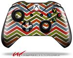 Decal Style Skin for Microsoft XBOX One Wireless Controller Zig Zag Colors 01 - (CONTROLLER NOT INCLUDED)