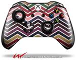 Decal Style Skin for Microsoft XBOX One Wireless Controller Zig Zag Colors 02 - (CONTROLLER NOT INCLUDED)