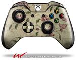 Decal Style Skin for Microsoft XBOX One Wireless Controller Flowers and Berries Pink - (CONTROLLER NOT INCLUDED)