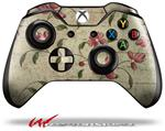 Decal Style Skin for Microsoft XBOX One Wireless Controller Flowers and Berries Red - (CONTROLLER NOT INCLUDED)