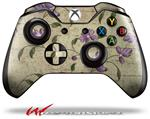 Decal Style Skin for Microsoft XBOX One Wireless Controller Flowers and Berries Purple - (CONTROLLER NOT INCLUDED)