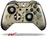Decal Style Skin for Microsoft XBOX One Wireless Controller Flowers and Berries Blue - (CONTROLLER NOT INCLUDED)
