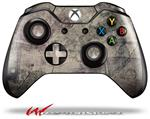 Decal Style Skin for Microsoft XBOX One Wireless Controller Pastel Abstract Gray and Purple - (CONTROLLER NOT INCLUDED)