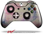 Decal Style Skin for Microsoft XBOX One Wireless Controller Pastel Abstract Pink and Blue - (CONTROLLER NOT INCLUDED)