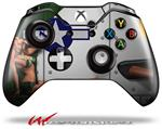 Decal Style Skin for Microsoft XBOX One Wireless Controller WWII Bomber War Plane Pin Up Girl - (CONTROLLER NOT INCLUDED)