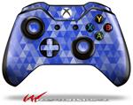 Decal Style Skin for Microsoft XBOX One Wireless Controller Triangle Mosaic Blue - (CONTROLLER NOT INCLUDED)