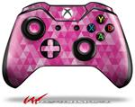 Decal Style Skin for Microsoft XBOX One Wireless Controller Triangle Mosaic Fuchsia - (CONTROLLER NOT INCLUDED)