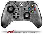 Decal Style Skin for Microsoft XBOX One Wireless Controller Triangle Mosaic Gray - (CONTROLLER NOT INCLUDED)