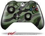 Decal Style Skin for Microsoft XBOX One Wireless Controller Camouflage Green - (CONTROLLER NOT INCLUDED)
