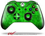 Decal Style Skin for Microsoft XBOX One Wireless Controller Triangle Mosaic Green - (CONTROLLER NOT INCLUDED)
