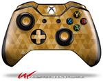 Decal Style Skin for Microsoft XBOX One Wireless Controller Triangle Mosaic Orange - (CONTROLLER NOT INCLUDED)
