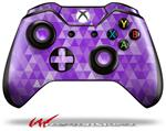 Decal Style Skin for Microsoft XBOX One Wireless Controller Triangle Mosaic Purple - (CONTROLLER NOT INCLUDED)