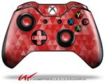 Decal Style Skin for Microsoft XBOX One Wireless Controller Triangle Mosaic Red - (CONTROLLER NOT INCLUDED)