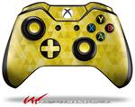 Decal Style Skin for Microsoft XBOX One Wireless Controller Triangle Mosaic Yellow - (CONTROLLER NOT INCLUDED)
