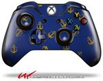 Decal Style Skin for Microsoft XBOX One Wireless Controller Anchors Away Blue - (CONTROLLER NOT INCLUDED)