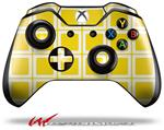Decal Style Skin for Microsoft XBOX One Wireless Controller Squared Yellow - (CONTROLLER NOT INCLUDED)