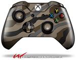 Decal Style Skin for Microsoft XBOX One Wireless Controller Camouflage Brown - (CONTROLLER NOT INCLUDED)