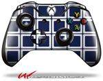 Decal Style Skin for Microsoft XBOX One Wireless Controller Squared Navy Blue - (CONTROLLER NOT INCLUDED)
