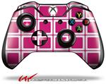 Decal Style Skin for Microsoft XBOX One Wireless Controller Squared Fushia Hot Pink - (CONTROLLER NOT INCLUDED)