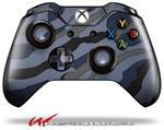 Decal Style Skin for Microsoft XBOX One Wireless Controller Camouflage Blue - (CONTROLLER NOT INCLUDED)