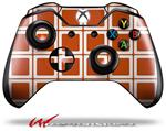 Decal Style Skin for Microsoft XBOX One Wireless Controller Squared Burnt Orange - (CONTROLLER NOT INCLUDED)
