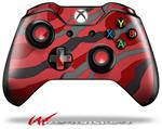 Decal Style Skin for Microsoft XBOX One Wireless Controller Camouflage Red - (CONTROLLER NOT INCLUDED)