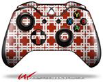 Decal Style Skin for Microsoft XBOX One Wireless Controller Boxed Red Dark - (CONTROLLER NOT INCLUDED)