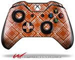 Decal Style Skin for Microsoft XBOX One Wireless Controller Wavey Burnt Orange - (CONTROLLER NOT INCLUDED)