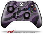 Decal Style Skin for Microsoft XBOX One Wireless Controller Camouflage Purple - (CONTROLLER NOT INCLUDED)